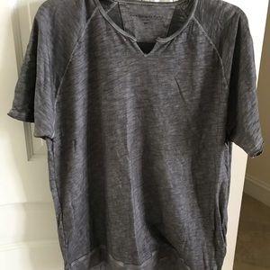 John Varvatos gray shirt size XXL